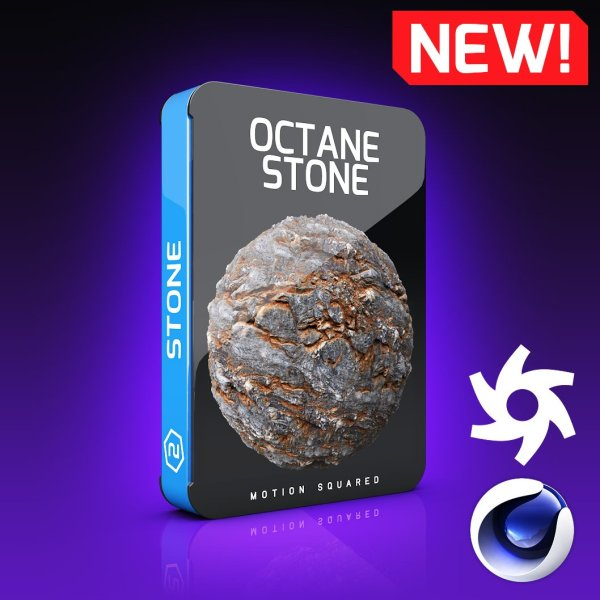 Octane Stone Texture Pack for Cinema 4D