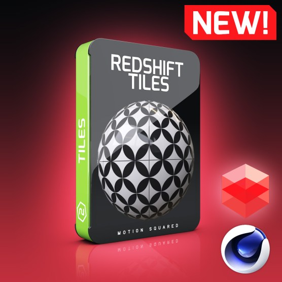 Redshift Tile Materials Pack for Cinema 4D