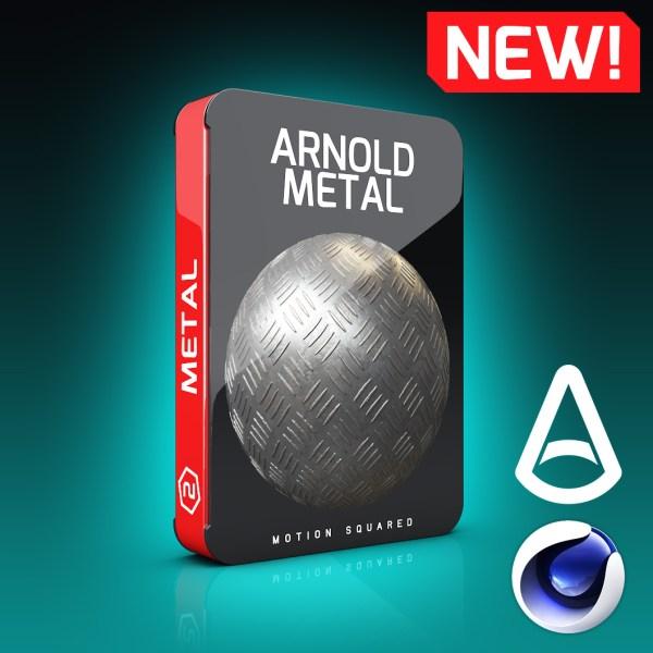 Arnold Metal Materials Pack for Cinema 4D