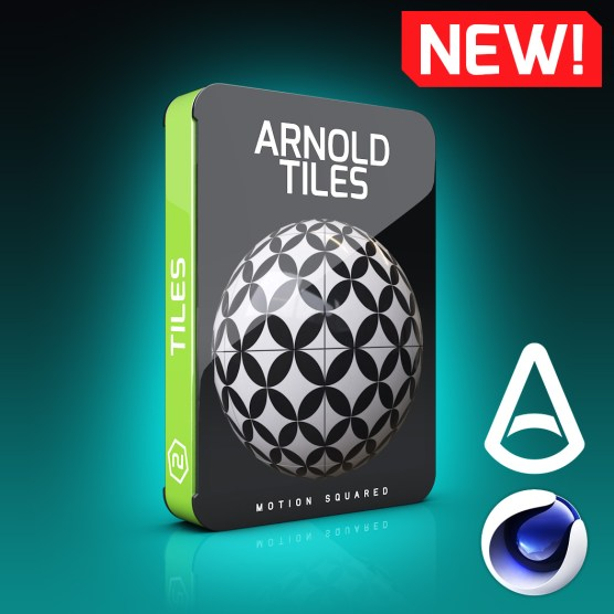 Arnold Tile Materials Pack for Cinema 4D