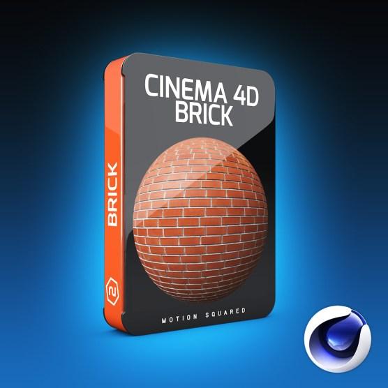 Cinema 4D Brick Materials Pack