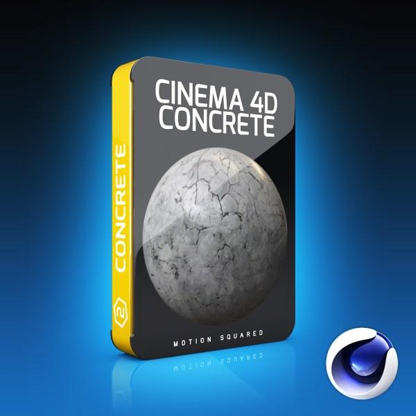 cinema 4d concrete materials pack