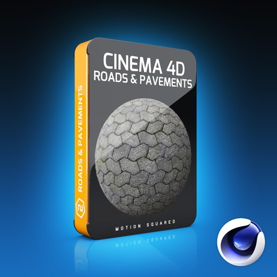 Cinema 4D Road And Pavement Materials Pack
