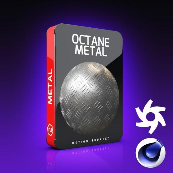 Octane Metal Materials Pack for Cinema 4D