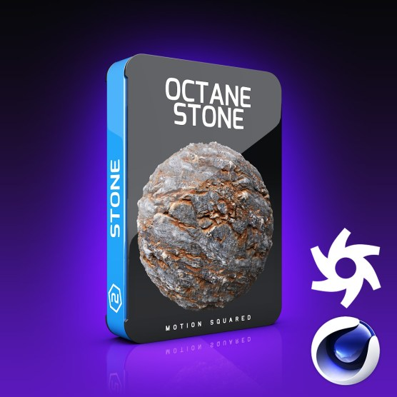 Octane Stone Materials Pack for Cinema 4D