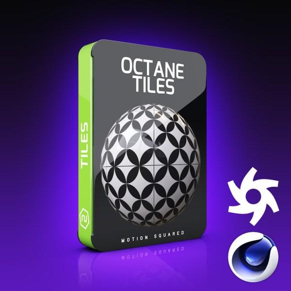 Octane Tile Materials Pack for Cinema 4D