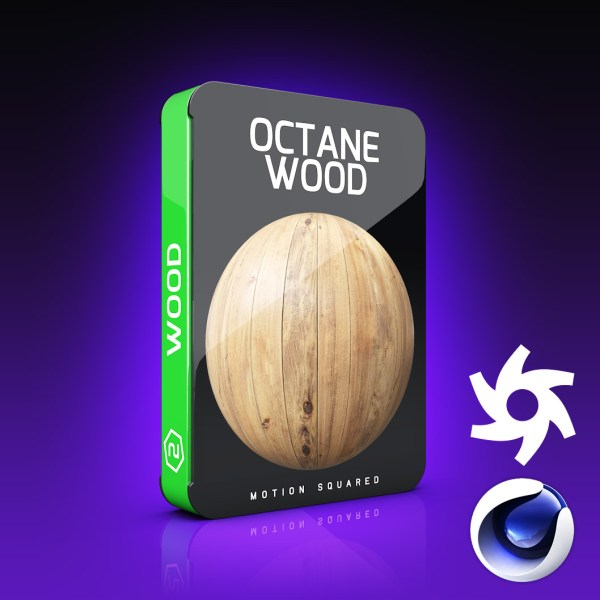 octane wood materials pack for cinema 4d