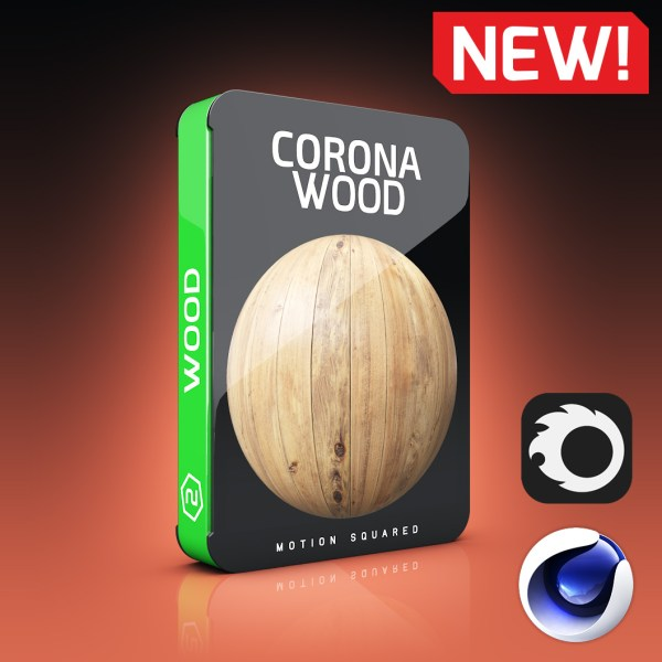 Corona Wood Materials Pack for Cinema 4D