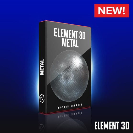 Element 3D Metal Shaders