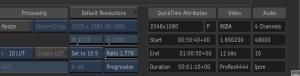 再度インポートするとアルファを認識しており、FrontとMatteで取り込めます。