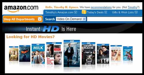Amazon Prime streaming video tv movies news sports