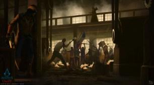 MauricioAbril_Assassins Creed Unity 03 Factory Mauricio Abril