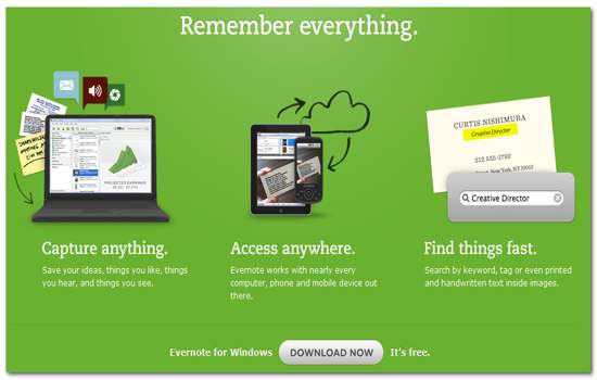 Evernote-Rember-Everything-and-Anything