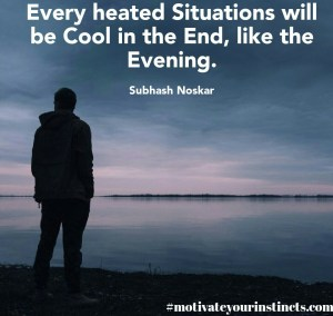 english quotes on evening