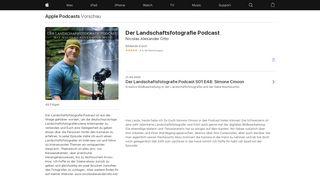 """""""Der Landschaftsfotografie Podcast"""" mit Nicolas Alexander Otto"""