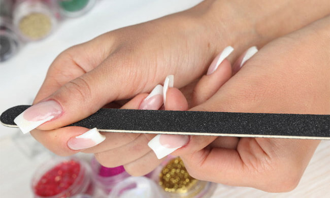 Acrylic Nails Which Are Pseudo How To Remove Safely Tips False
