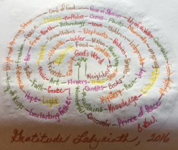Gratitude Labyrinth