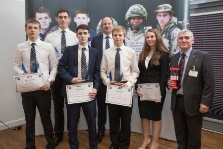 Military Preparation College Awards 2018. Cardiff City Stadium 12.01.18 ©Steve Pope - Fotowales