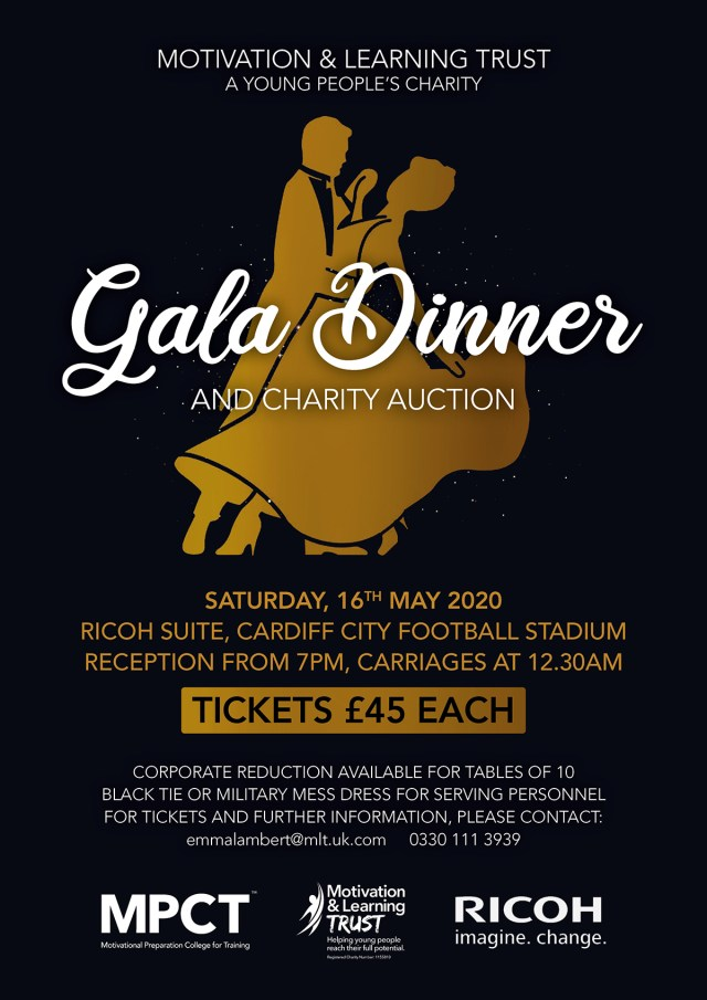 Motivation and Learning Trust Gala dinner and Charity Auction