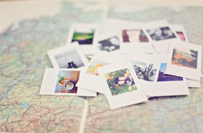 Auf Reisen gehen: Urlaubsfotos vergangener Reisen