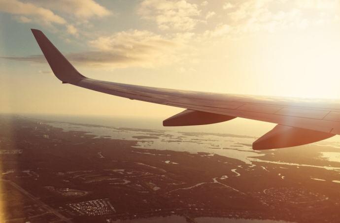 Auf Reisen gehen - Das kribbeln im Bauch wenn das Flugzeug endlich abhebt
