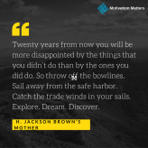 Motivation Matters Quote Jackson Brown Mother