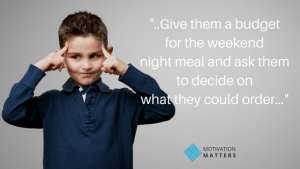 Motivate kids let them decide quote