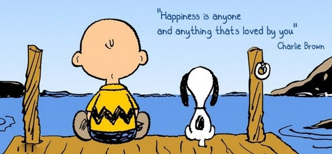 Happiness is anyone and anything thats loved by you""