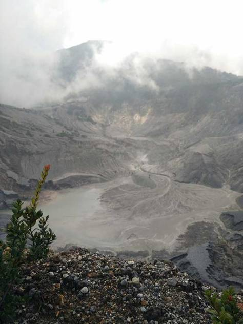 Tangkuban Perahu Bandung Upturned Boat Volcano Mountain
