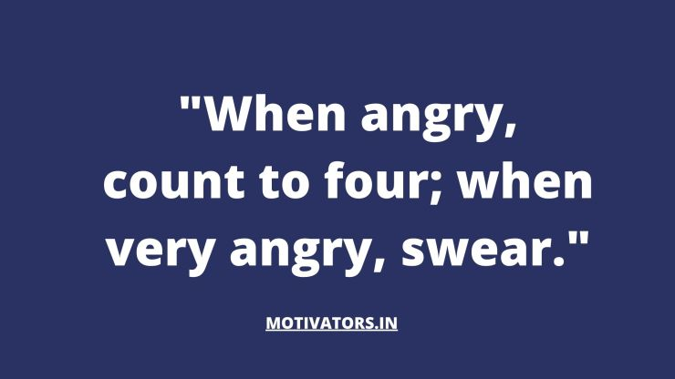 Anger Quotes 5