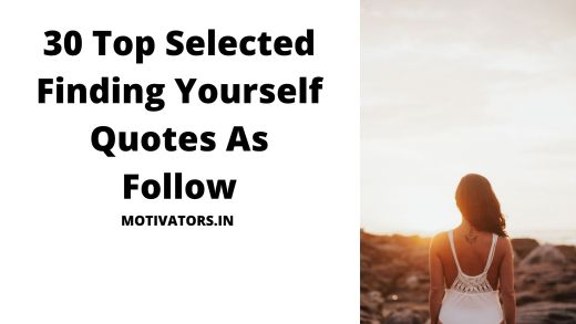 Finding Yourself Quotes