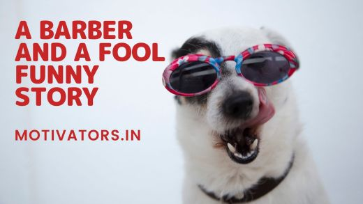 A Barber And A Fool Funny Story