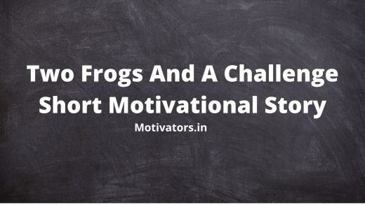 Two Frogs And A Challenge