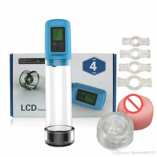 LCD Men Pump