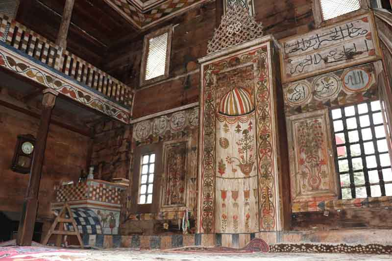 Antique Wooden Mosques in Turkey