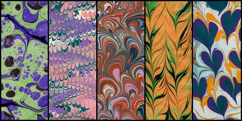 Turkish Paper Marbling Traditional Turkish handicrafts