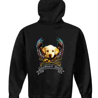 DOG hoodie back motley zoo animal rescue bydfault