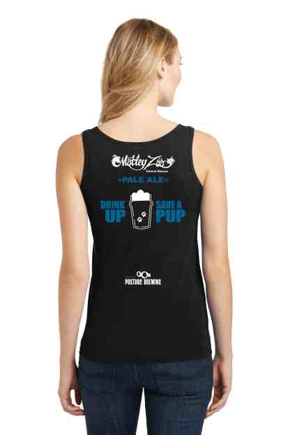 LOVE DOGS AND BEER WOMEN BACK TANK