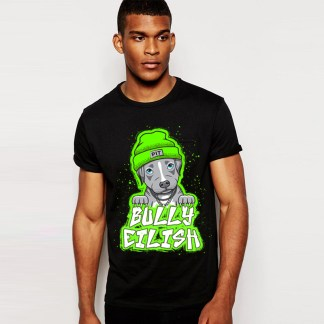 bully eilish men's tshirt front