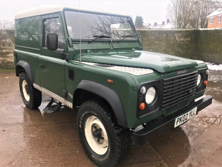 2002 Defender 90 TD5 hardtop for sale at motodrome
