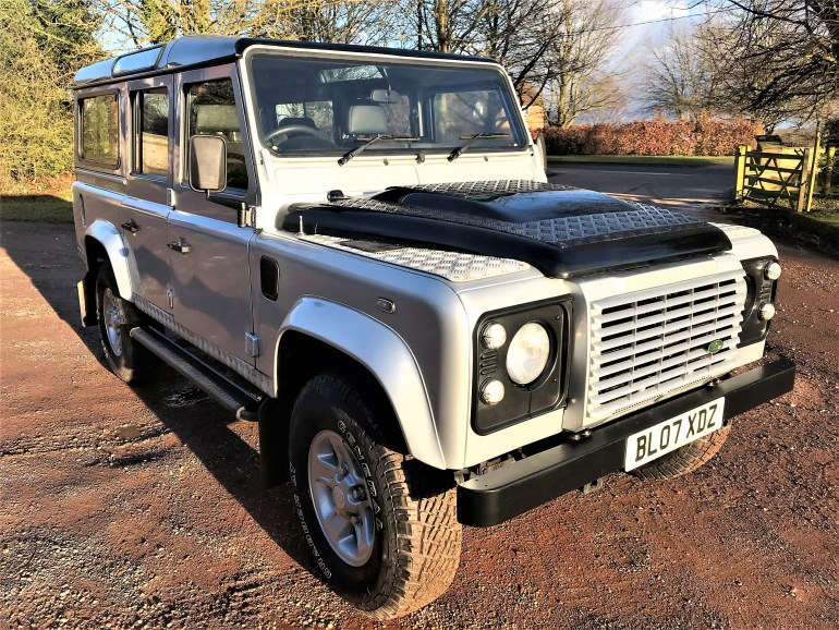 2007 Defender 110 TDCi XS station wagon for sale at motodrome