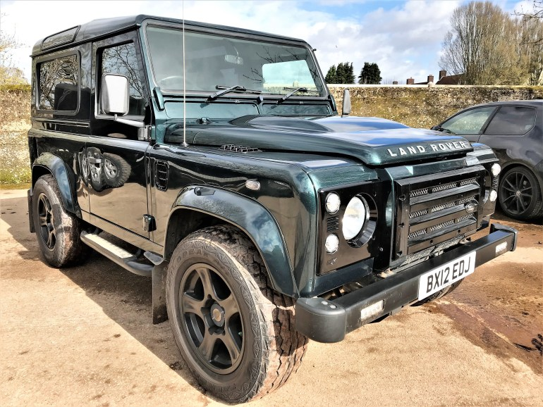 2012 Defender 90 2.2TDCi XS station wagon for sale at motodrome