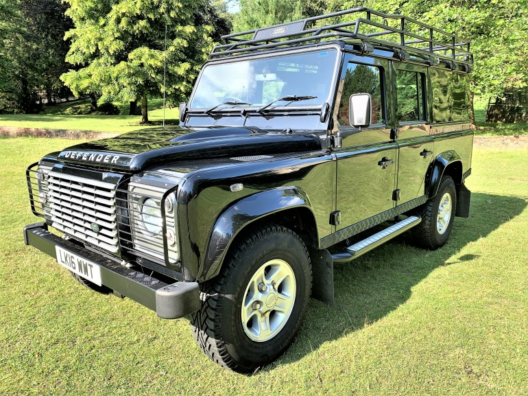 2016 Defender 110 2.2TDCi XS utility for sale at Motodrome