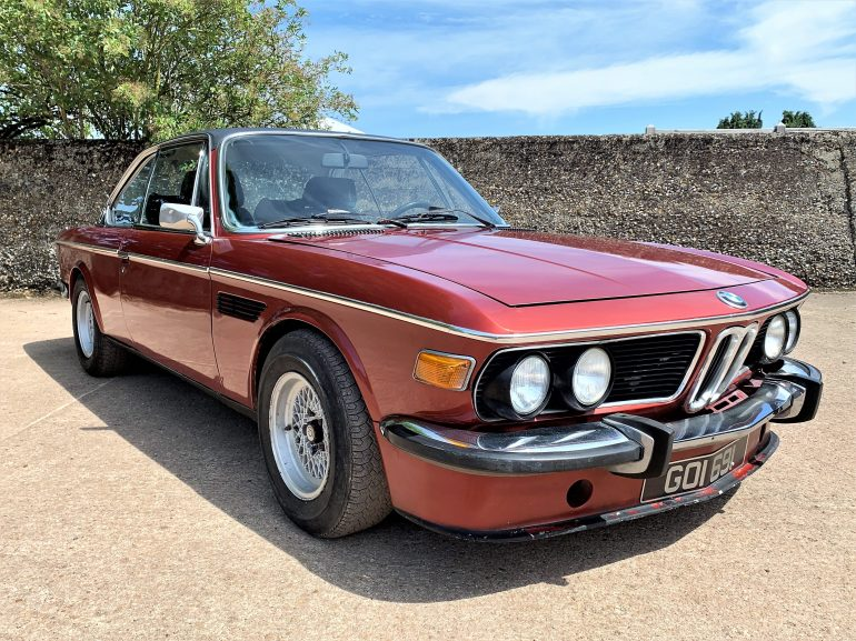 BMW E9 3.0 CSA for sale at Motodrome