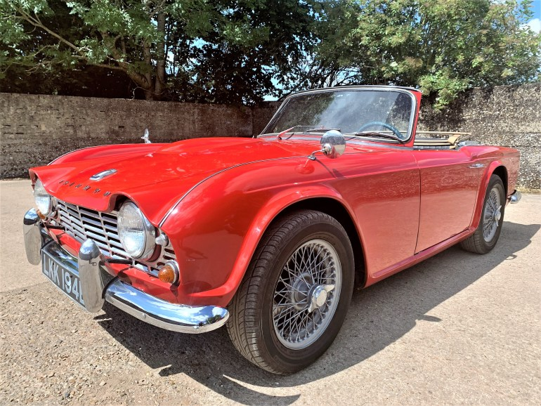 1964 Triumph TR4 lhd for sale