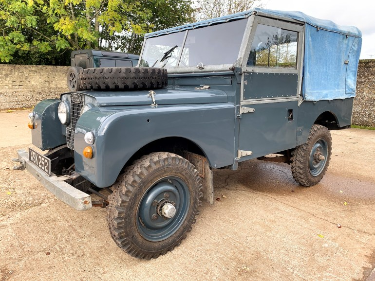 land rover series 1 86in soft top 2.25 petrol for sale at motodrome