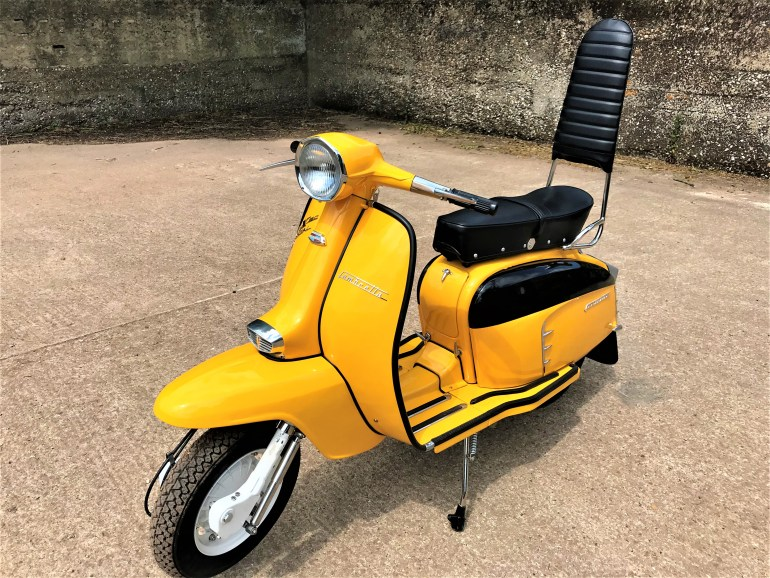 lambretta SX150 special for sale at motodrome