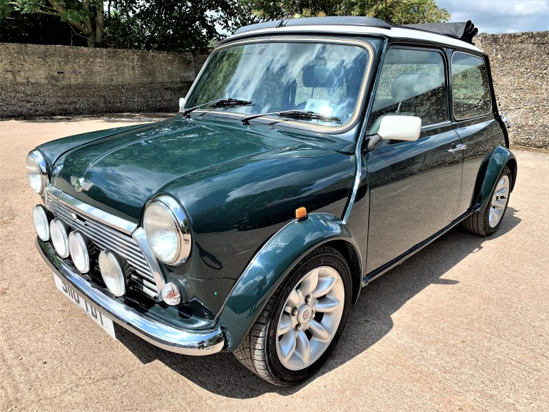 1998 Mini Cooper Sports LE 64000m for sale
