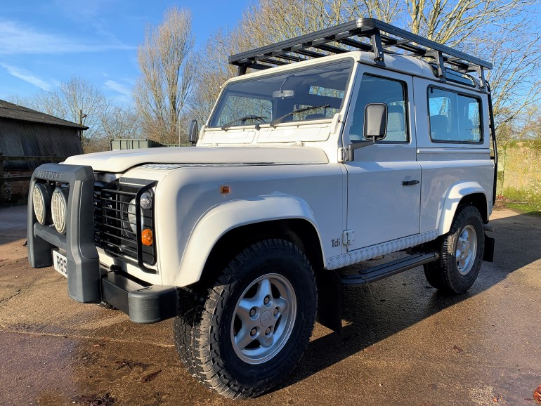 exceptional 1998 Defender 90 300TDi County station wagon for sale at motodrome