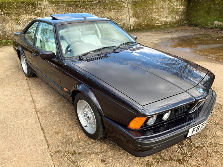 1989/F BMW 635 CSi HIGHLINE MOTORSPORT EDITION 96500M FOR SALE AT MOTODROME